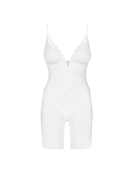 Camisa De Noite Charms Obsessive Branca - 44 XXL - PR2010340096