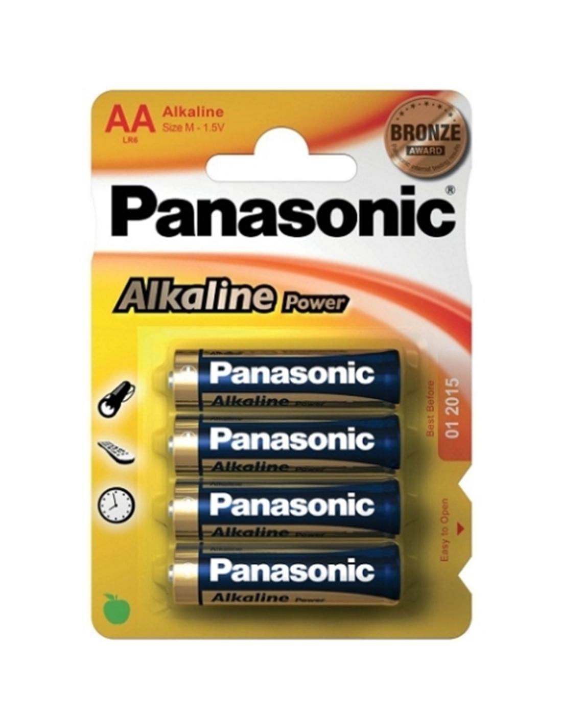 4 Pilhas Aa Alcalinas Panasonic - PR2010319357