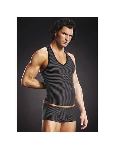 T-Shirt Com Costas Nadador Blueline Riscas - 40-42 L/XL - PR2010319438