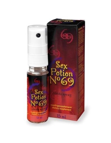 Spray Estimulante Sex Potion Nº 69 - 15ml - PR2010319722