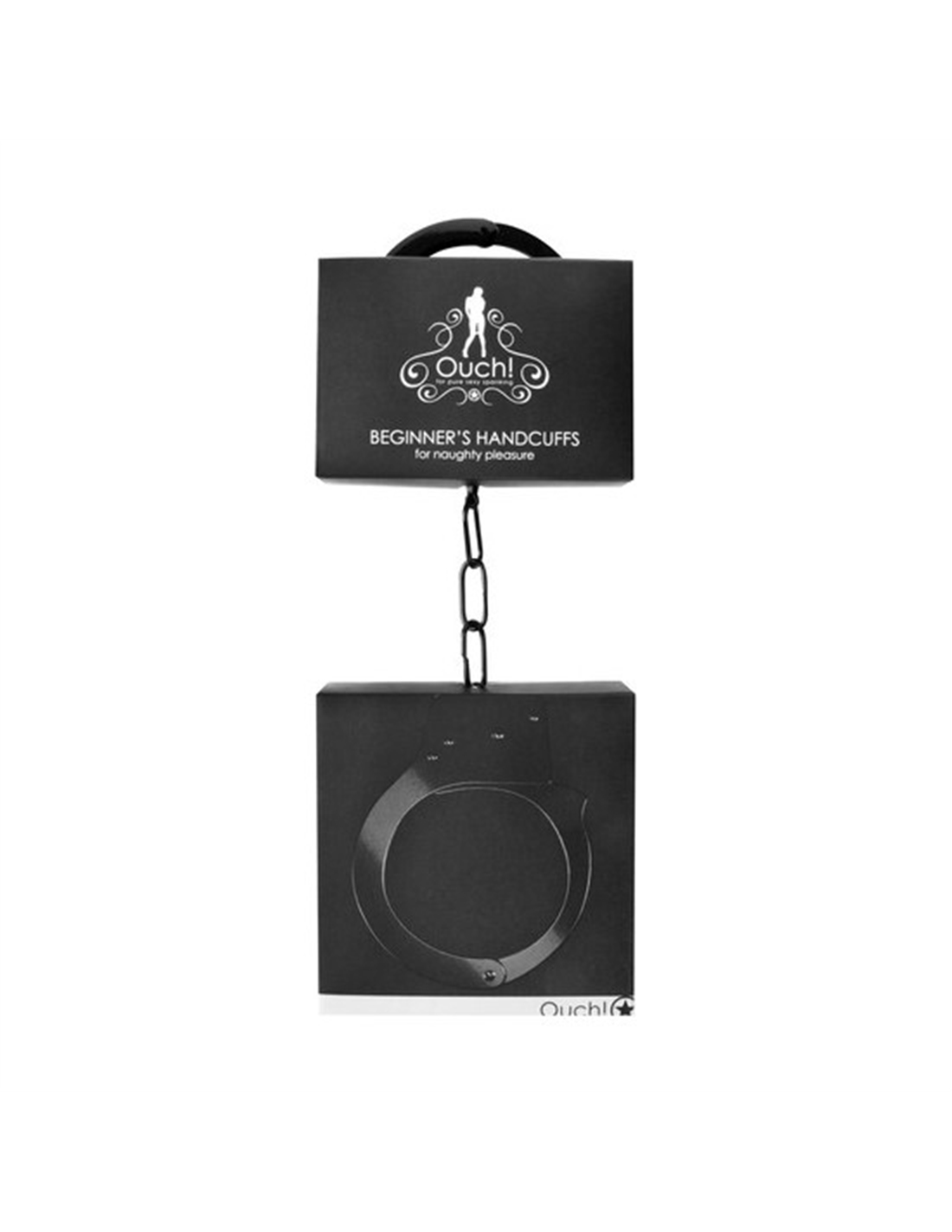 Algemas Em Metal Beginner's Handcuffs Pretas - PR2010320067