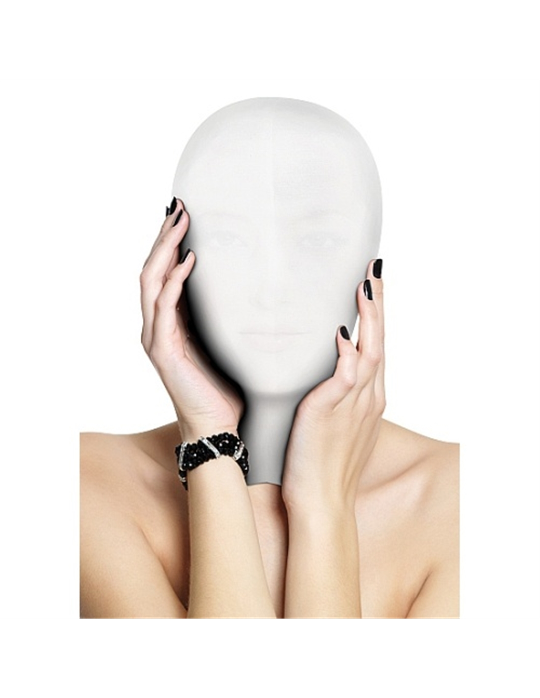 Máscara Subjugation Mask Branca - PR2010320099