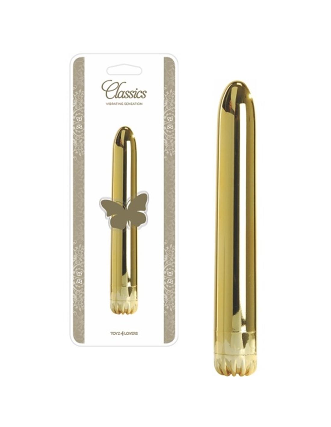 Vibrador Classics Dourado Médio - PR2010322082