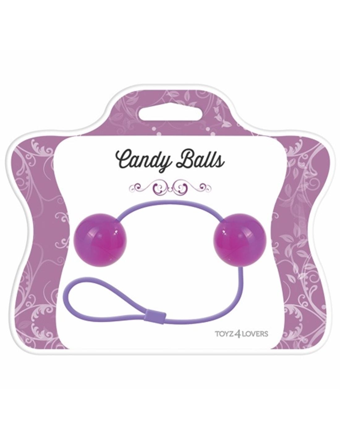 Bolas Vaginais Candy Balls Roxas - PR2010322205
