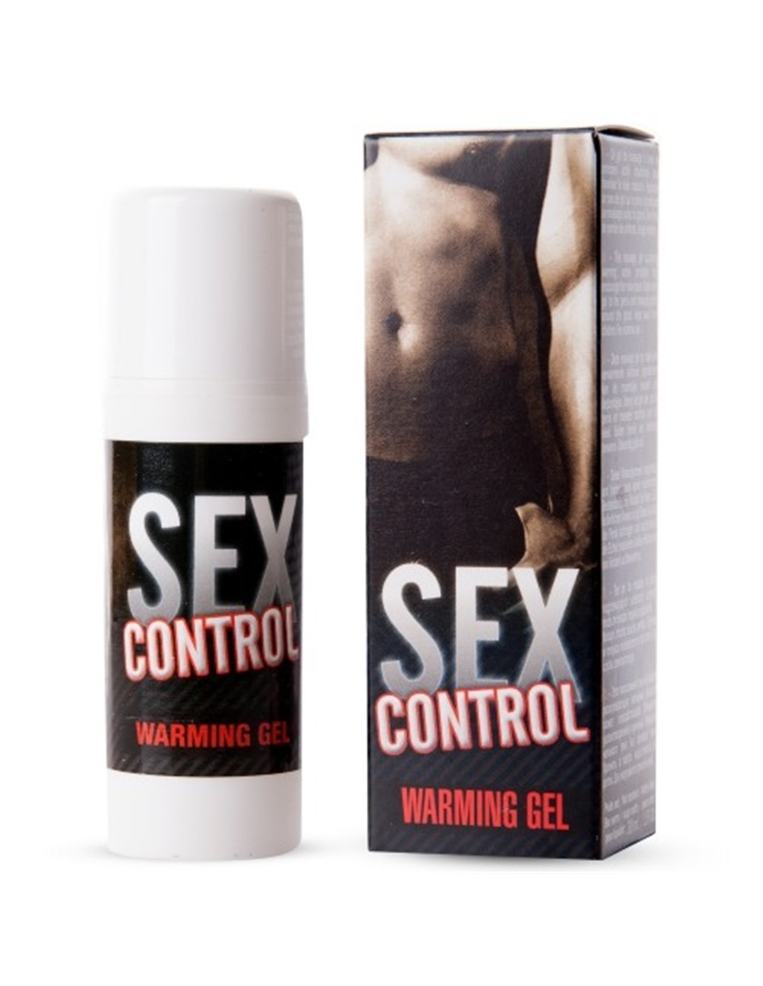 Gel De Massagem Com Efeito Calor Sex Control 30 - ml - PR2010299881