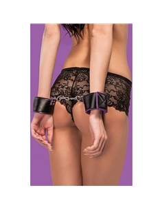 Algemas Ouch! Reversible Wrist Cuffs Roxas E Pretas - PR2010340782