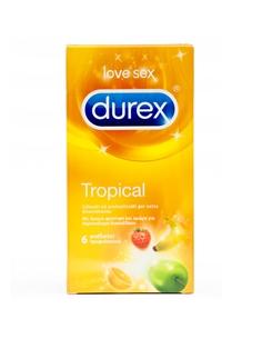 Preservativos Durex Tropical - 6 Unidades - PR2010333979