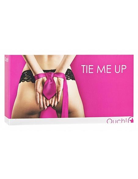Gravata Bondage Tie Me Up Rosa - PR2010314447