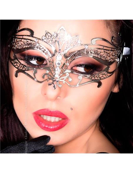 Máscara Cr-3809 Prateada - PR2010339838
