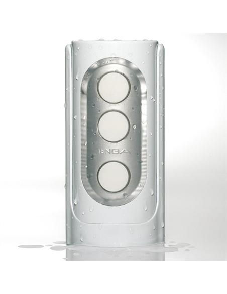 Masturbador Reutilizável Tenga Flip Hole Branco - PR2010300027