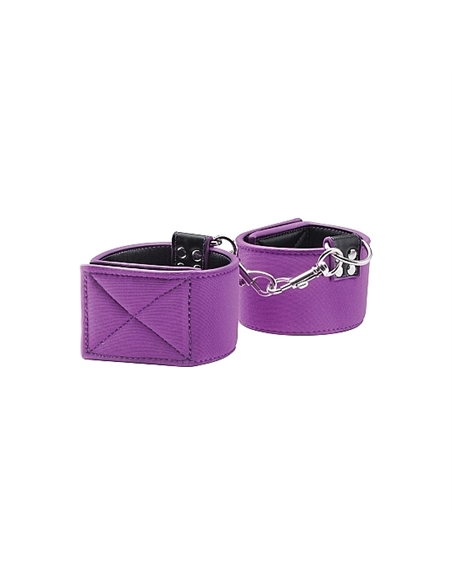 Algemas Ouch! Reversible Wrist Cuffs Roxas E Pretas - PR2010340782