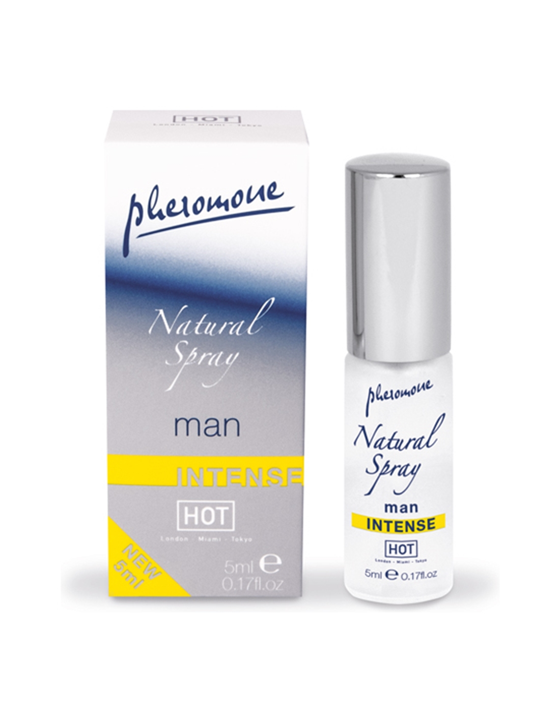 Perfume Com Feromonas Natural Spray Shiatsu Man Intens - 5ml - PR2010324232