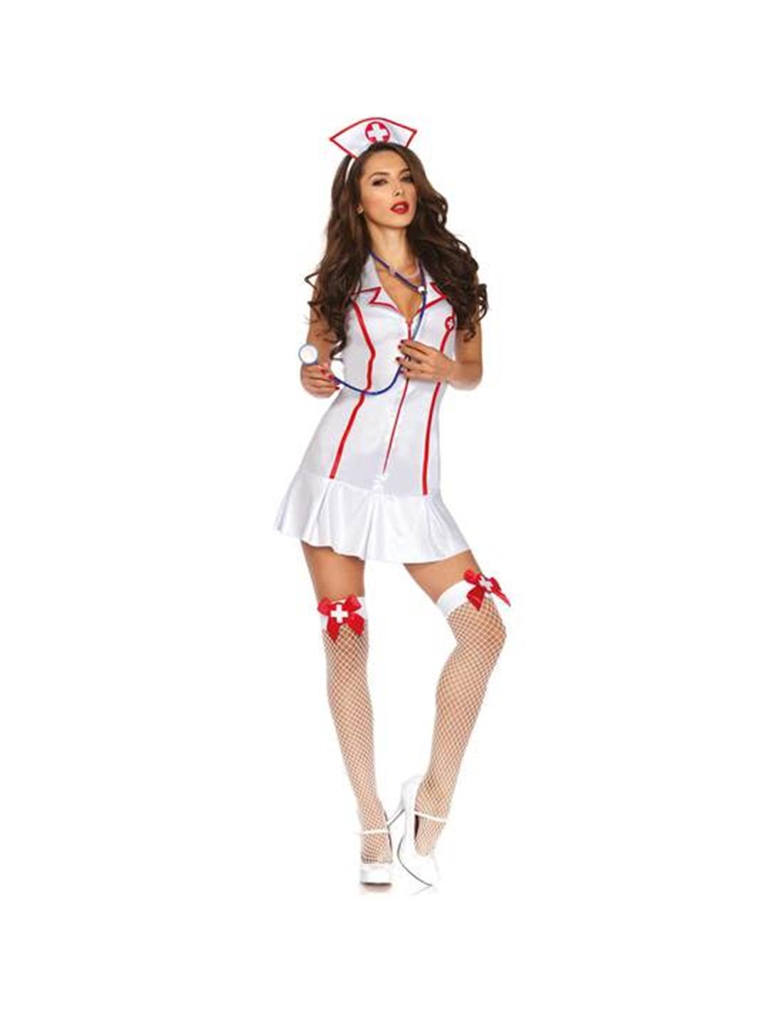 Fantasia De Enfermeira Head Nurse - 36-38 S/M - PR2010305154