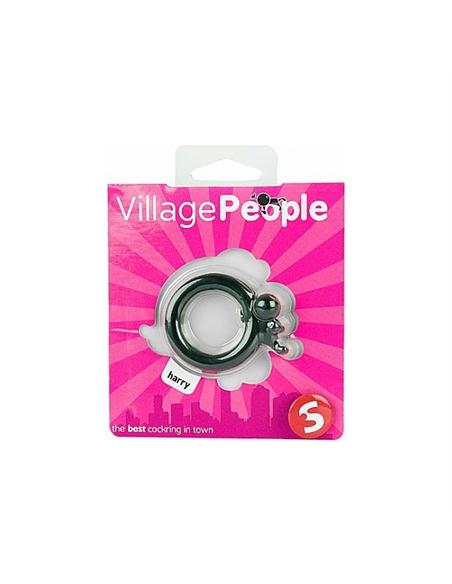 Anel Para O Pénis Village People Harry Preto - PR2010319193