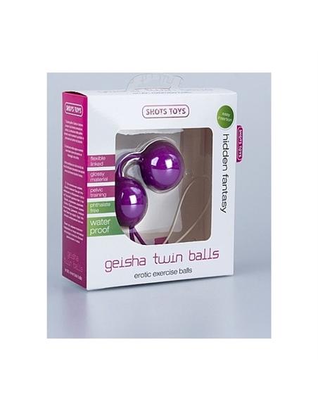 Bolas Geisha Twin Balls Roxas - PR2010302470