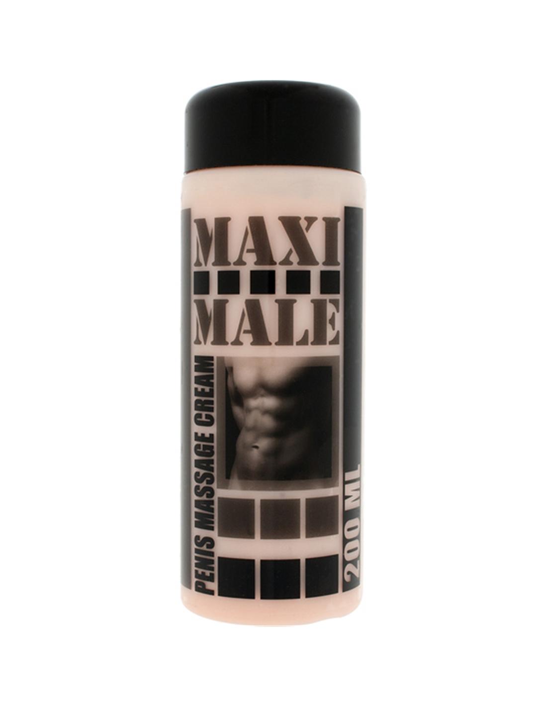 Creme De Massagem Para O Pénis Maxi Male - 200ml - PR2010303999