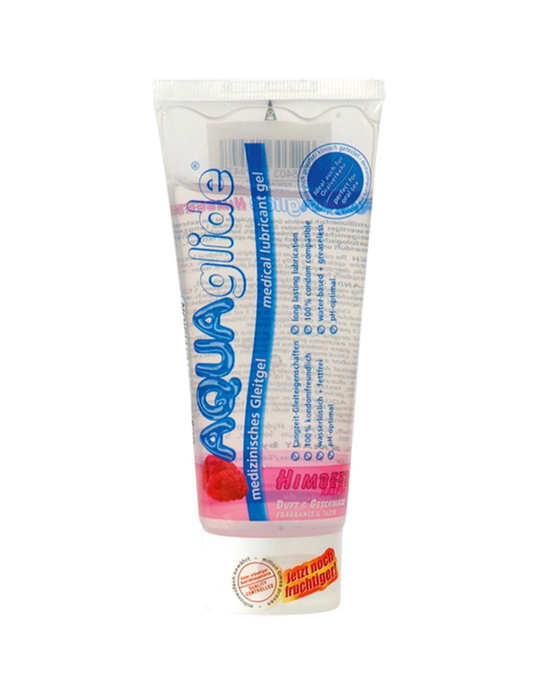 Lubrificante Aquaglide Framboesa - 100ml - DO29004933