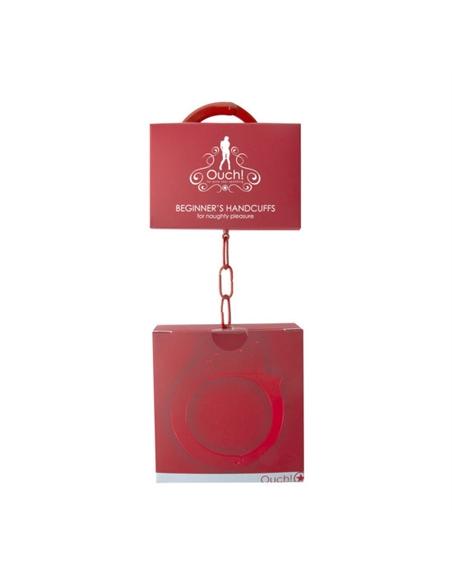 Algemas Em Metal Beginner's Handcuffs Vermelhas - PR2010320063