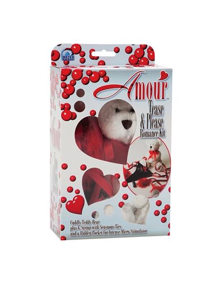 Kit Romantico ursinho e tanga - PR2010304207