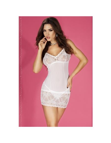 Camisa De Noite Cr-3676 Branca - 36-38 S/M - PR2010323884