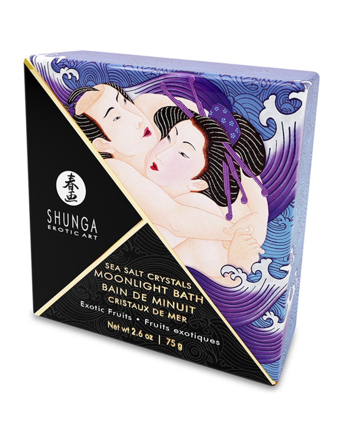 Shunga Crystals Bath Salts Exotic Fruit 75G - PR2010348142