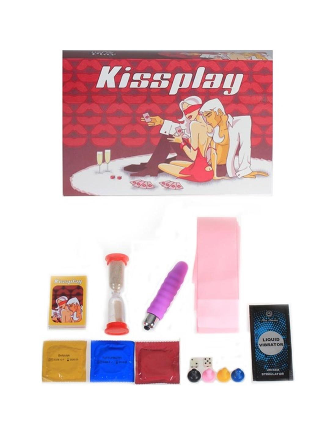 Jogo Kissplay Em Português E Espanhol - PR2010320888