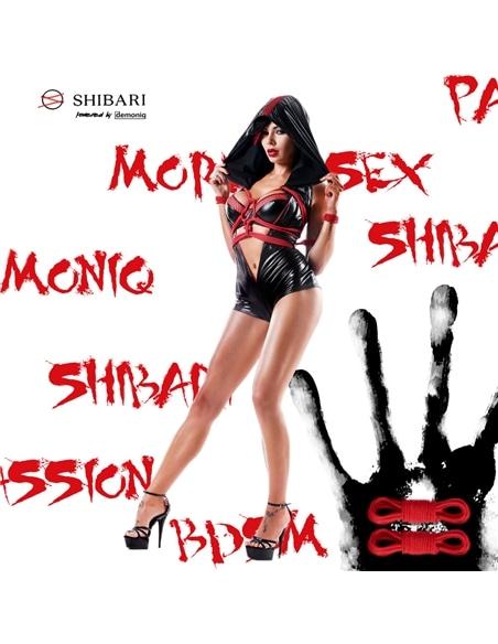 Macacão Hoshi Shibari Pack Demoniq Preto - 36 S - PR2010343427
