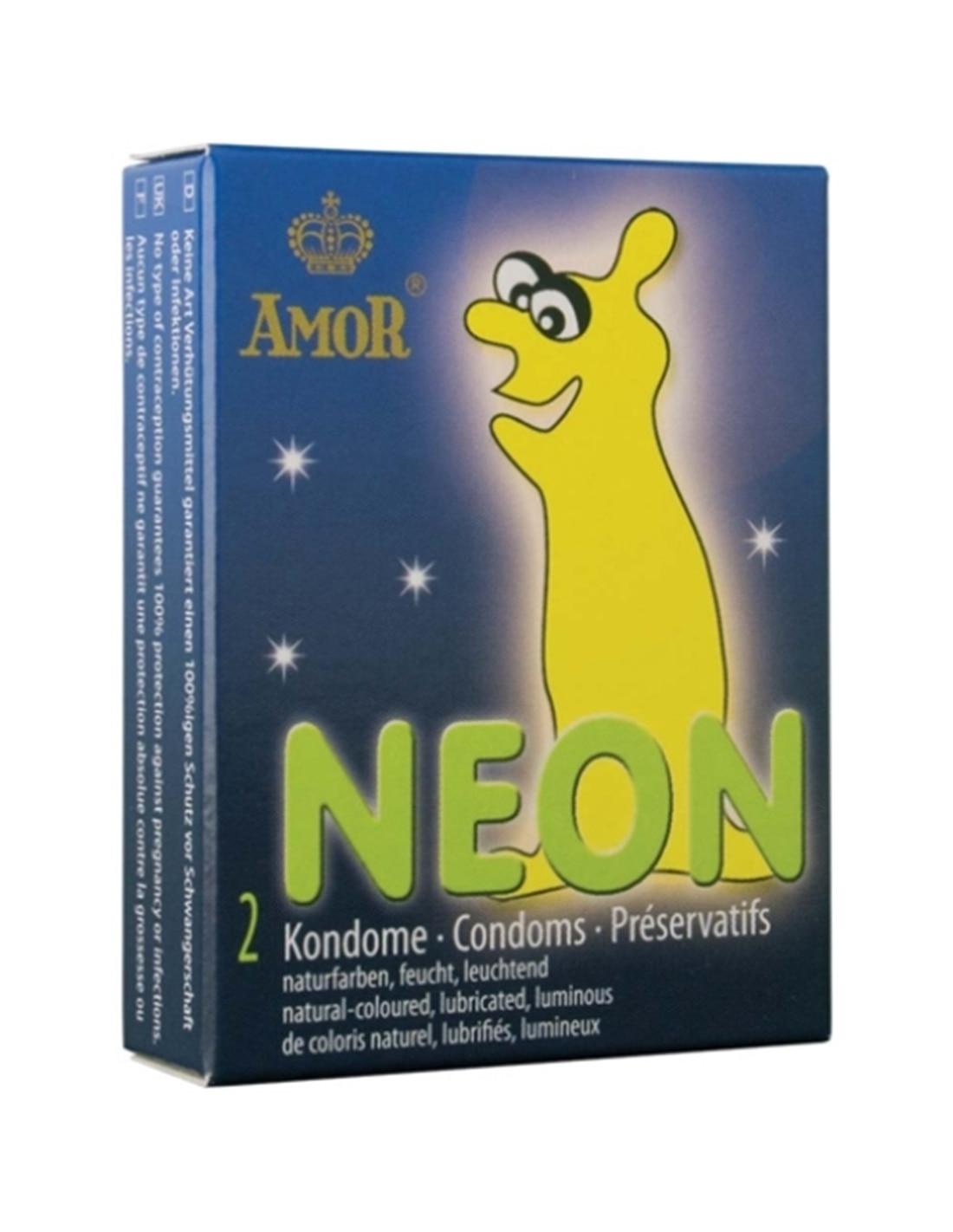DO29904142 - Preservativos Fluorescentes Néon - 2 Unidades-DO29904142