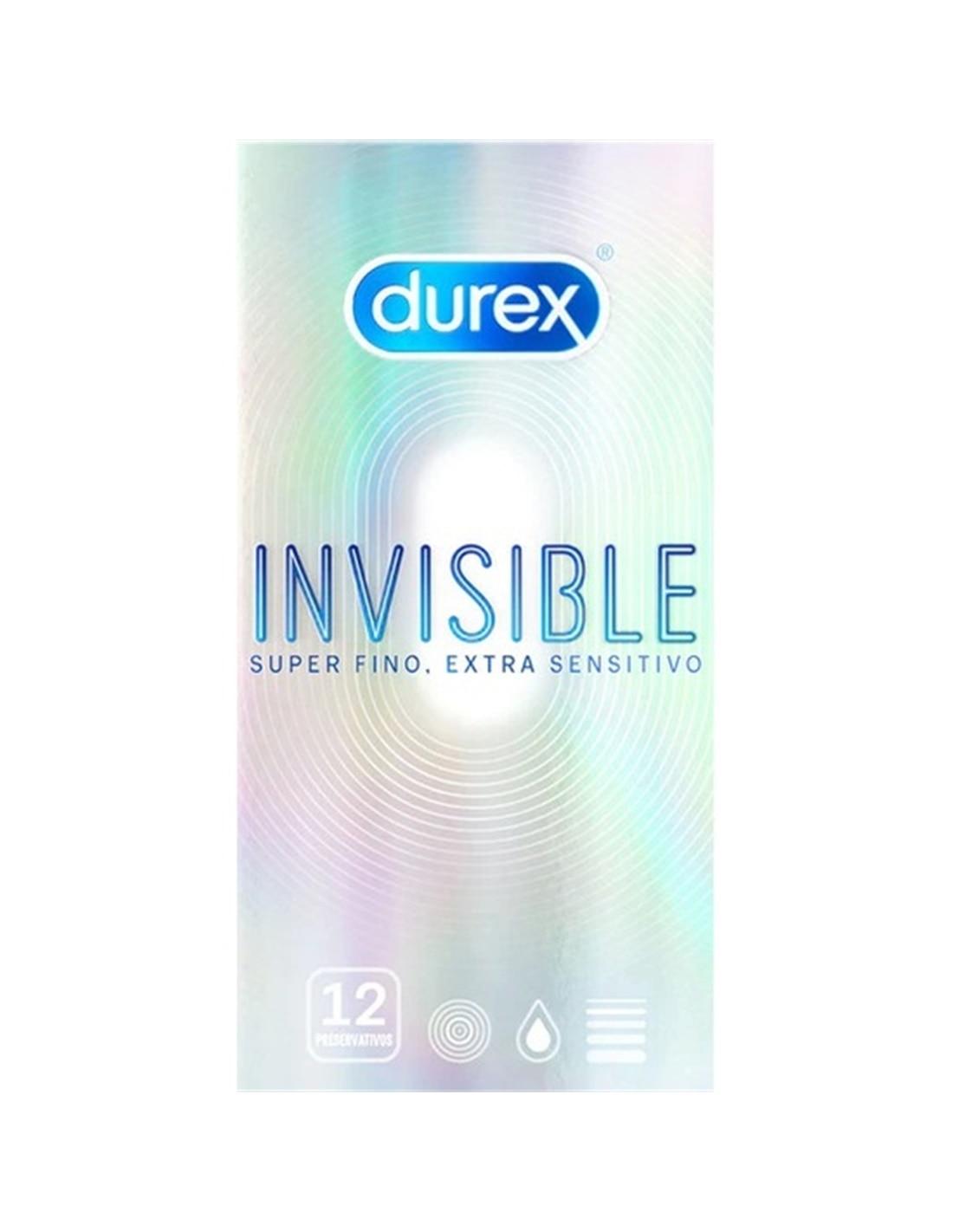 21192 - Durex Invisible Extra Fino 12 Uds-PR2010338780