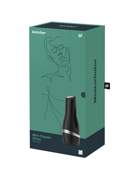 Masturbador Satisfyer Men Classic Prateado #5 - PR2010356798