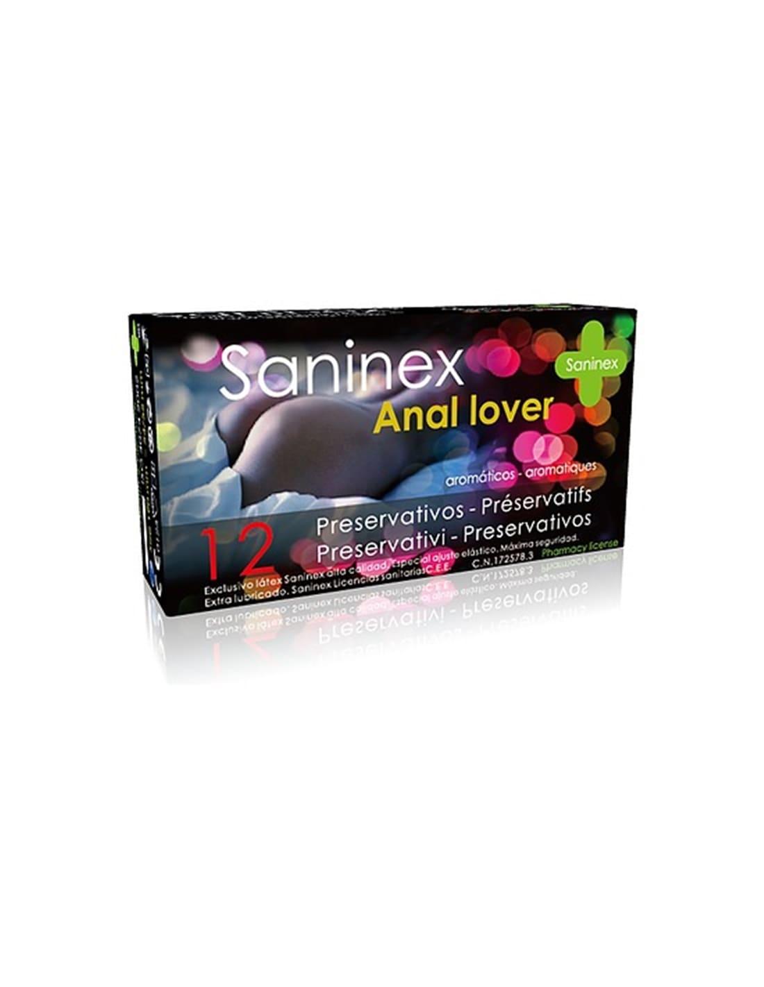 Saninex Preservativos Anal Lover 12Uds - PR2010345105