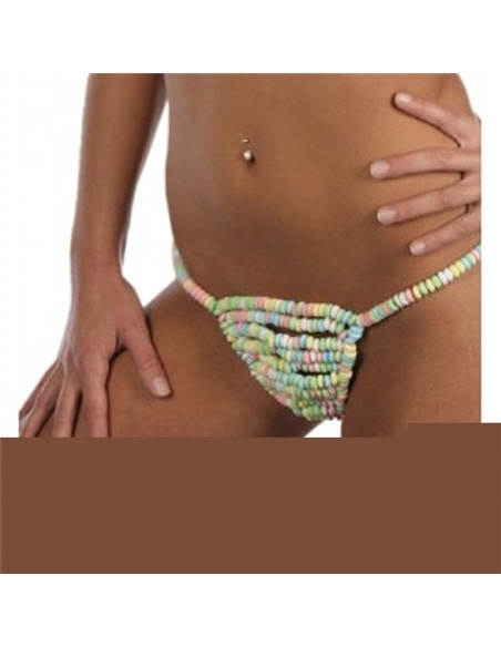 Tanga Feminina Comestível Candy G-String #1 - PR2010313725