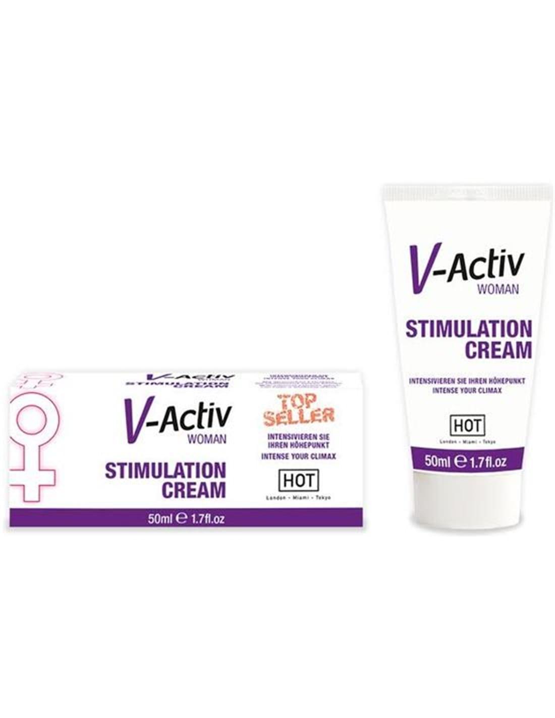 Creme Estimulante Feminino V-Activ - 50ml - PR2010300694