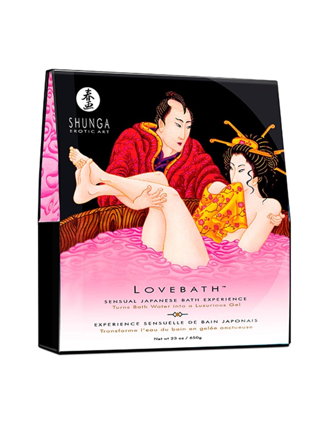 Sais de Banho Shunga Love Bath Dragon Fruit 650Gr - Rosa - PR2010313041