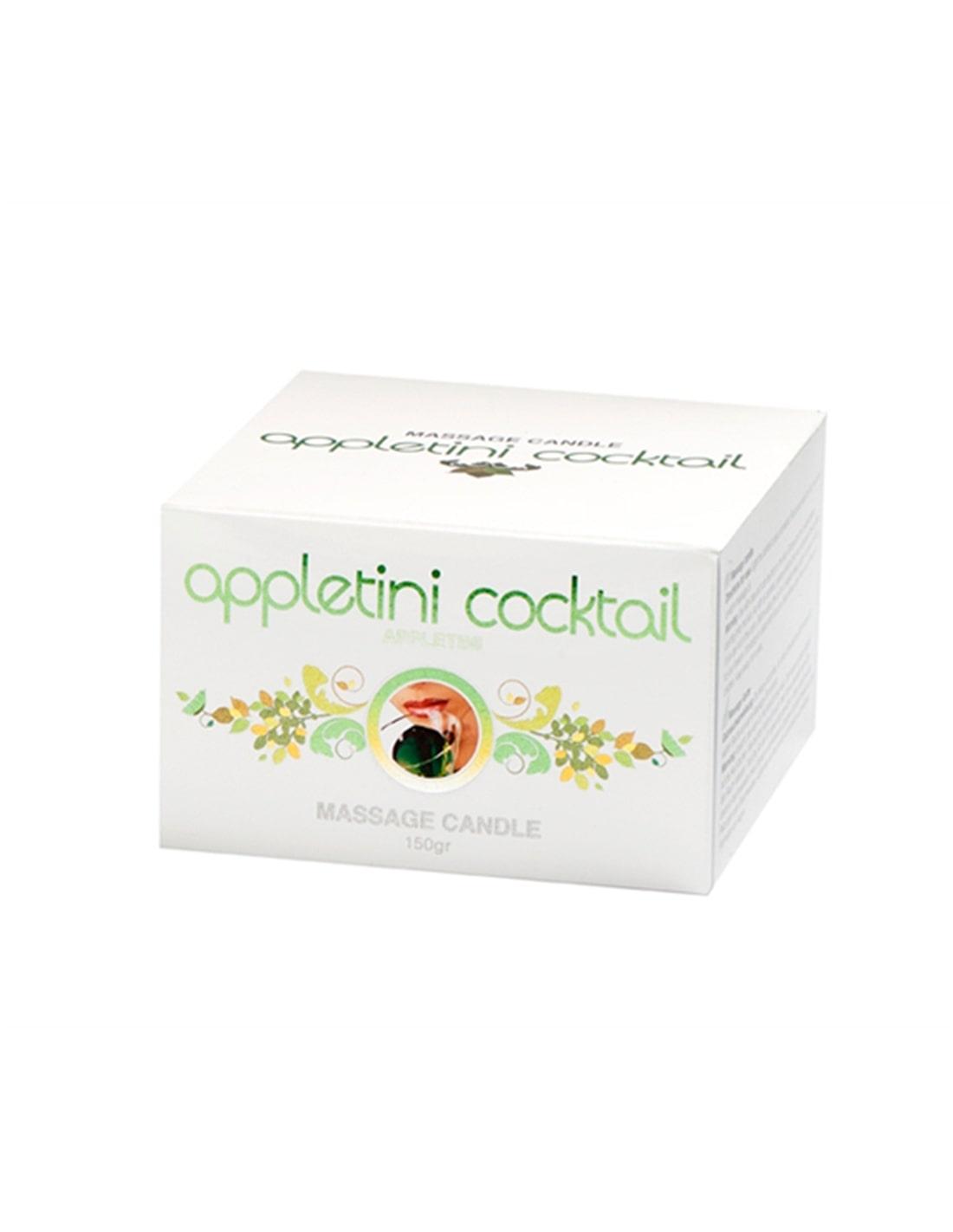 Vela de Massagem Appletini Cocktail 150Gr - PR2010320152