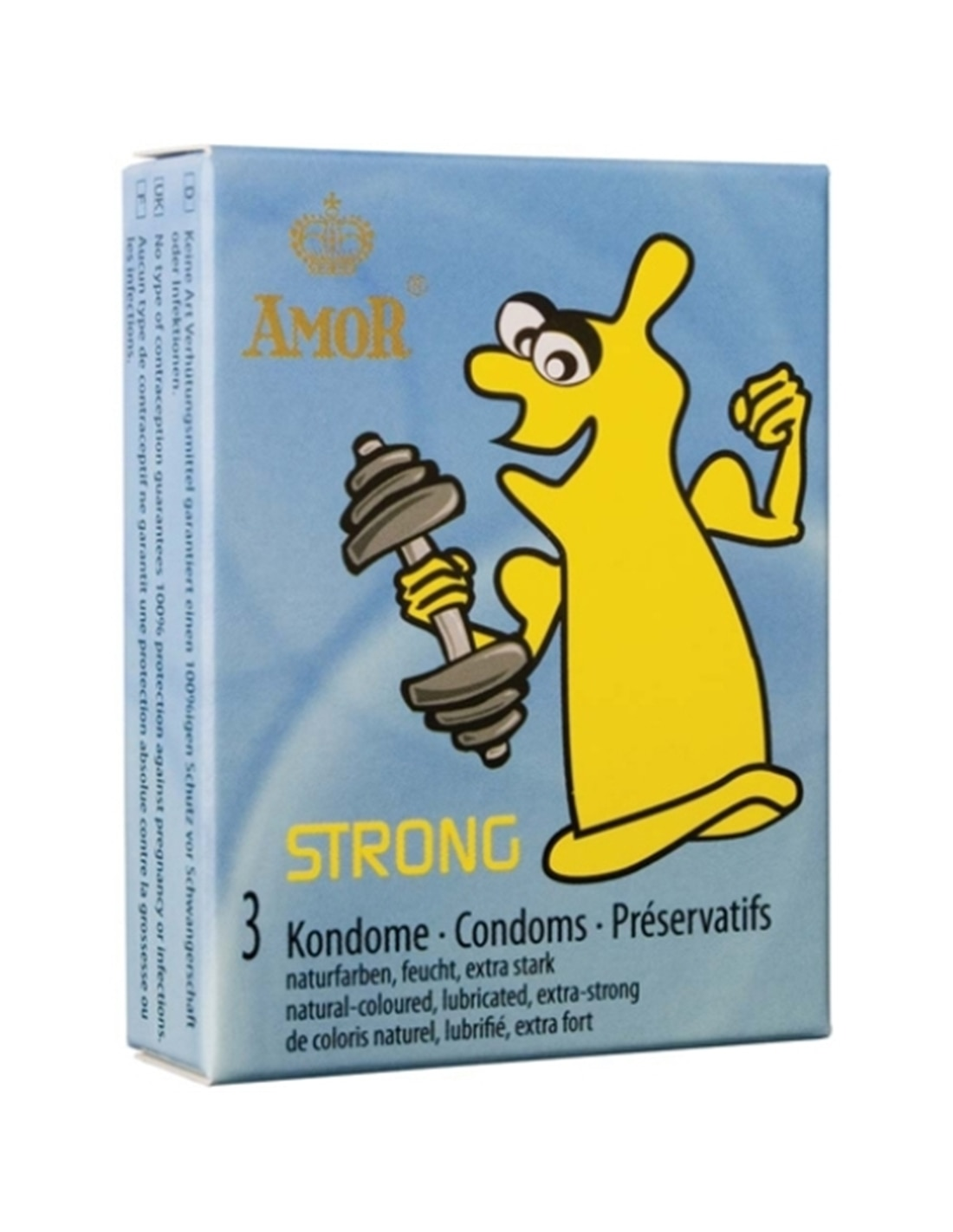 Preservativos Strong - 3 Unidades - PR2010318596