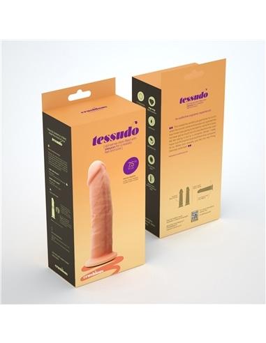 Dildo Premium Silicone Tessudo 7,5' Baunilha Crushious - PR2010354733