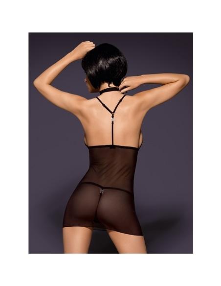 Camisa De Noite E Tanga Cocardina Obsessive 40-42 L/XL - PR2010331675