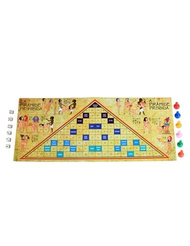 Jogo a Pirâmide Proibida Em Português e Espanhol Secret Play #2 - PR2010299347