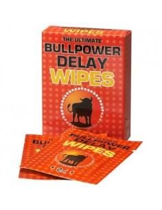 Caixa Com 6 Toalhitas Retardantes Bull Power Delay Wip - 2ml - PR2010320149